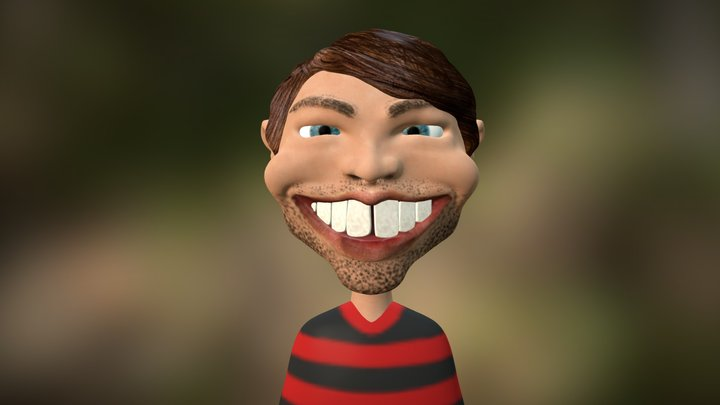 Caricature 3D Model