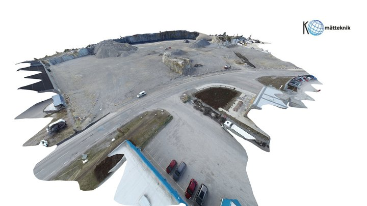 Stone quarry 3D Model