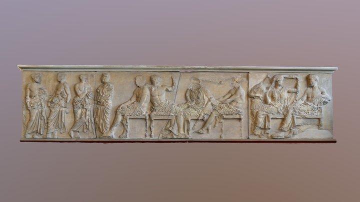 Parthenon - Gotter Sammlung 3D Model