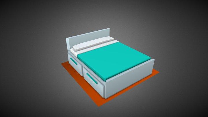 Bed #HouseholdPropsChallenge 3D Model
