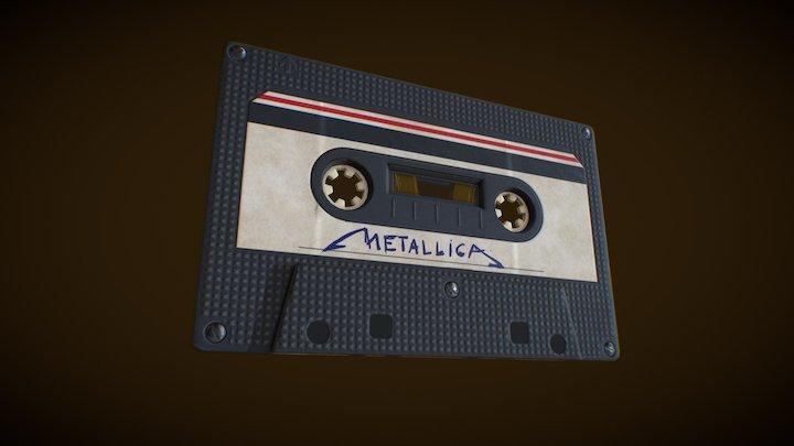 audio tape 3D Model