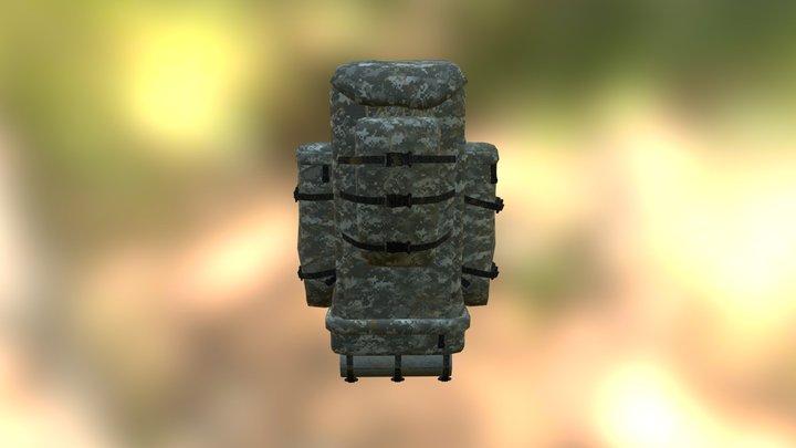 Backpack-3_winter 3D Model