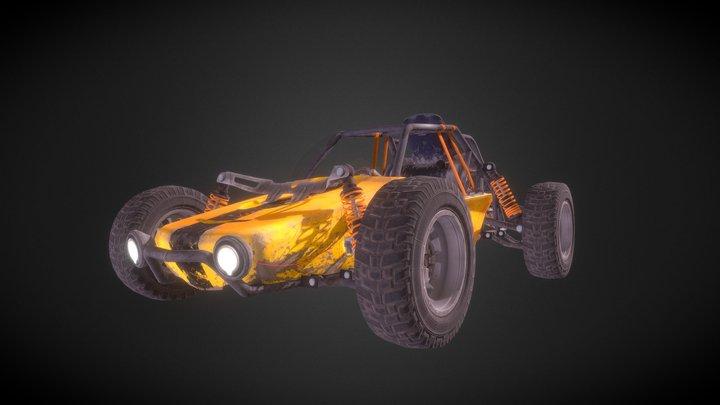 PUBG:BUGGY 3D Model