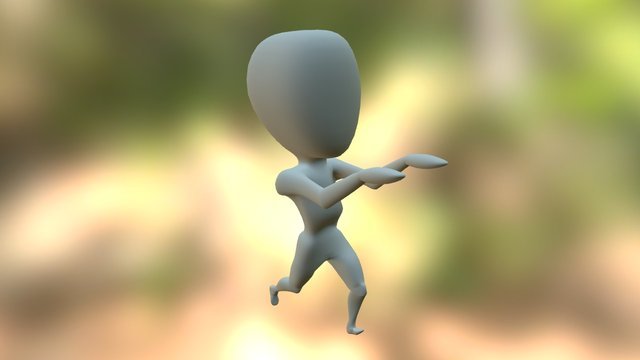 My first 3D animation! 3D Model