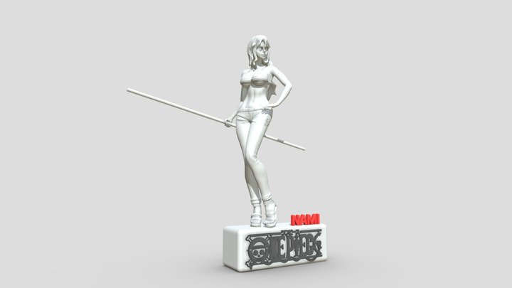 NAMI ONE PIACE - 3D PRINTABLE 3D Model