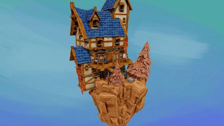 The Butchers Home 3D Model