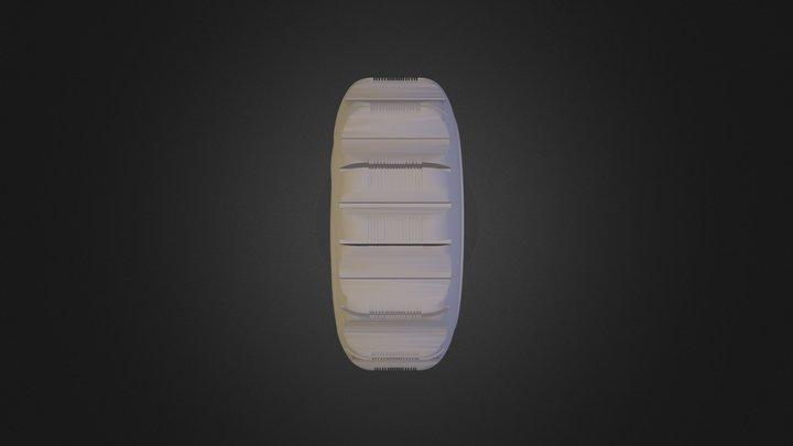 Wheel Mazover Noga Fixed 3D Model