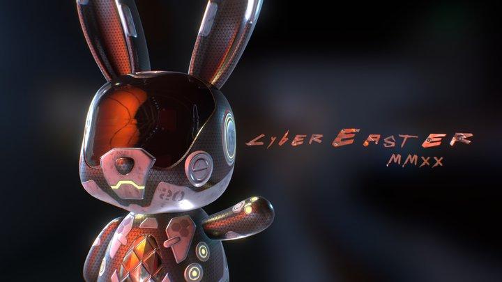 Cyber Easter 2020 3D Model