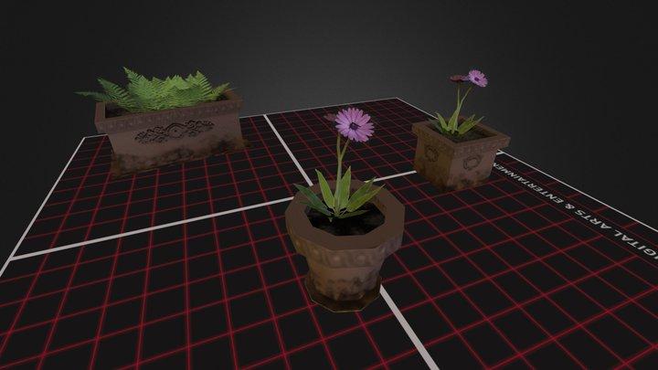 Props_Planten 3D Model