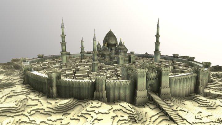 Persia Town 3D Model