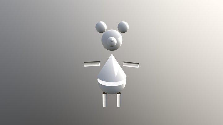 Mikke Mus 3D Model