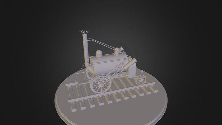 Rocket_animate.zip 3D Model
