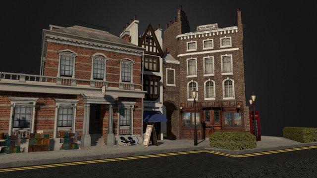 CityScene-London 3D Model
