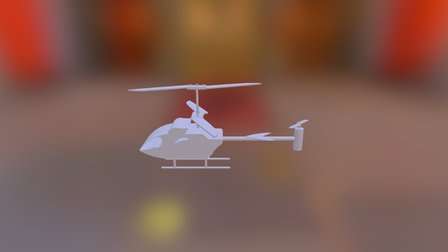 Helicoptero 3D Model