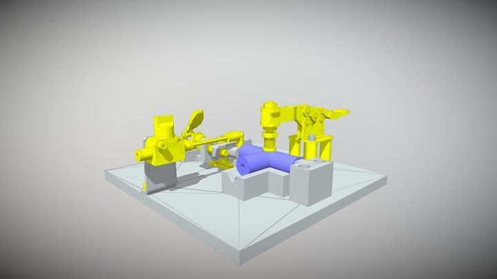 Air Flow Confirmation Fixture 3D Model