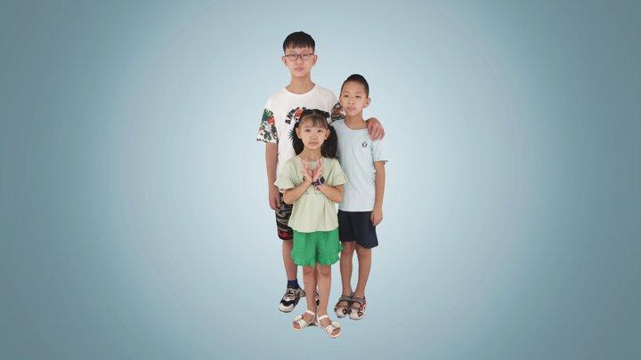 3267 3D Model