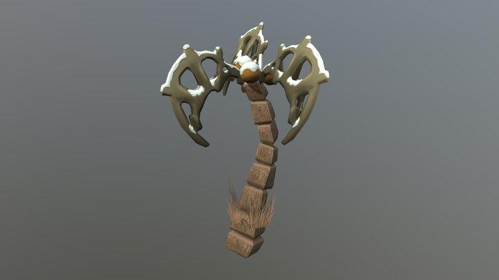 Skeleton Palm 3D Model