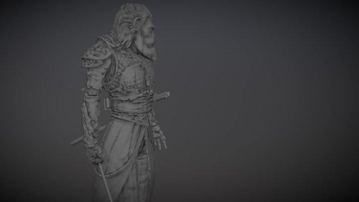 Rey Mono Sun Wukong Journey the west 3D Model