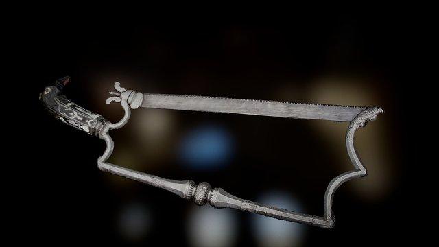 Bone saw 3D Model