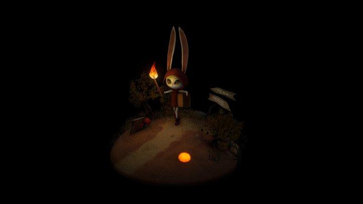 Light the fire up! 3D Model