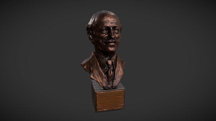 Liddell Hart Bust WIP 3D Model