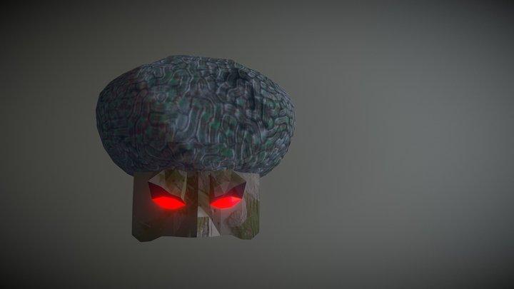 Giant Brain 3D Model
