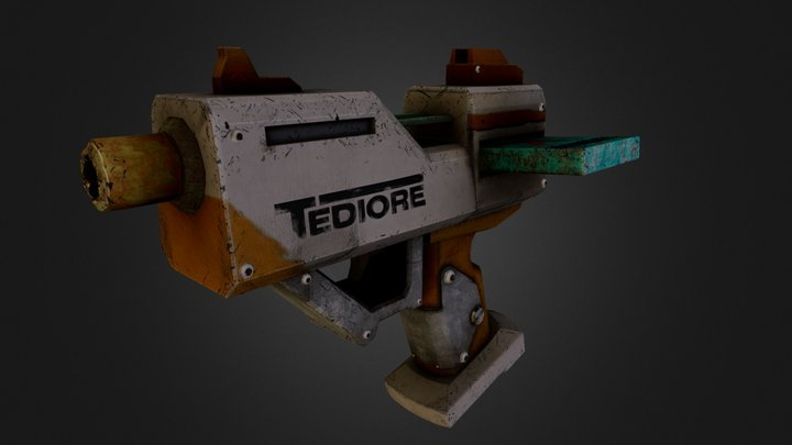 Borderlands 2 Weapon 3D Model