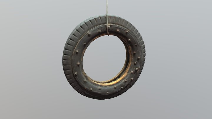 LOW+info Pula-ajan rengas - Emergency tyre 3D Model