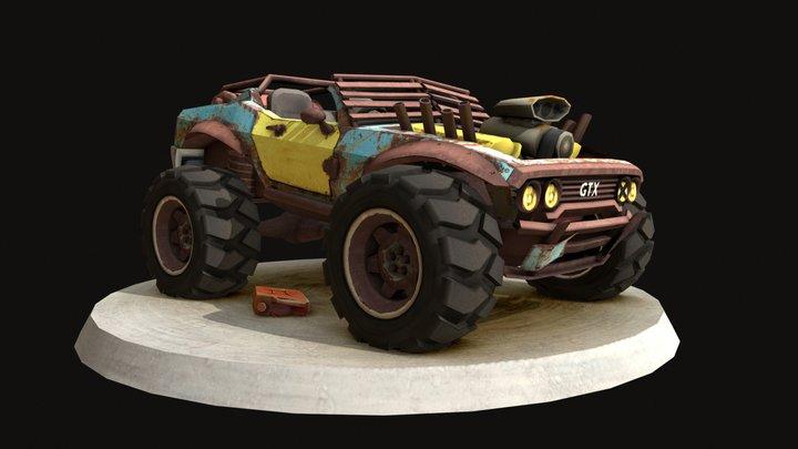 MaxMod 3D Model