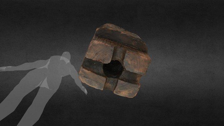 Lower foot of Bilge Pump (Gnalić Shipwreck) 3D Model