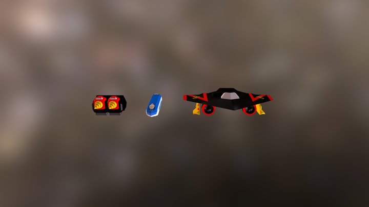 Stealthgao / Linargao / Drill Gao 3D Model