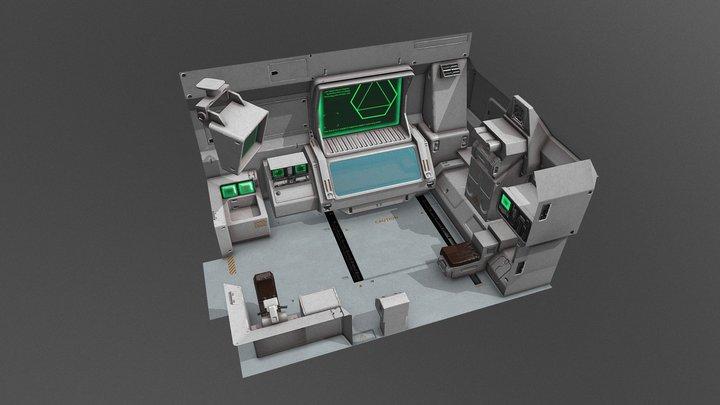 Sci fi med bay 3D Model