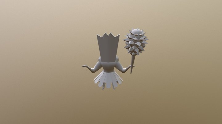 Minion 1 3D Model
