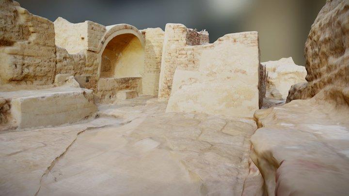 Karanis Bath 3D Model