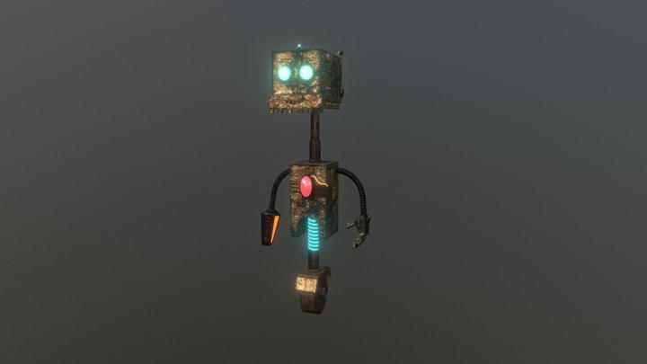 Junkyard Robot 3D Model