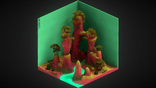 Hills by Marcoapc_art 3D Model