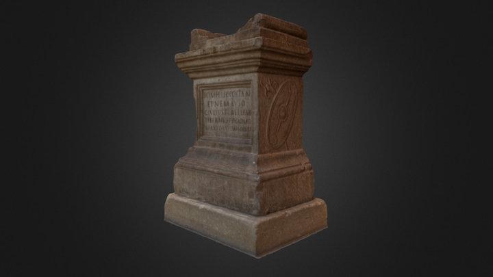 roman altar, Musée archéologique de Nîmes 3D Model