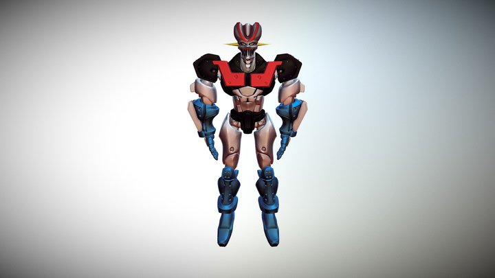 Mazingerz Poly Paint 3D Model