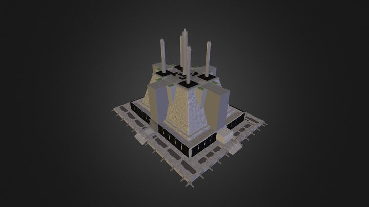 Jedi Temple 3D Model