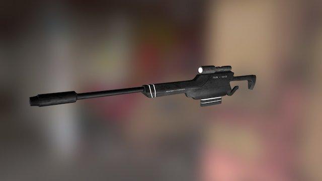CatWarfare - Sniper 3D Model