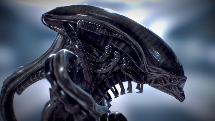 The Giger's Chair 3D Model