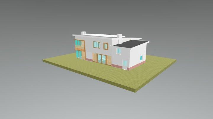 Uitbreiding Woonhuis 3D Model