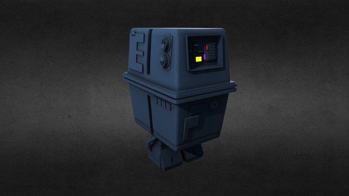 Gonk Droid 3D Model