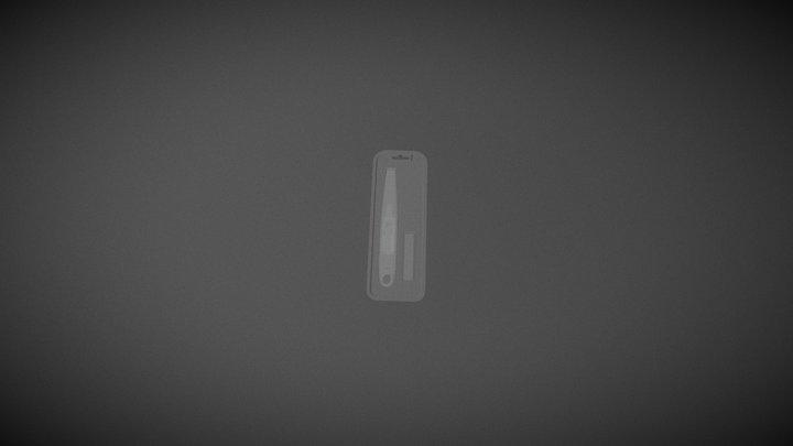 Easyflame Blister 3D Model