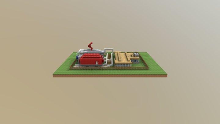 Mein cooler Bahnhof 3D Model