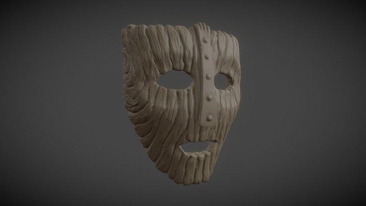 Sculpt January 2018 - 02 Mask 3D Model