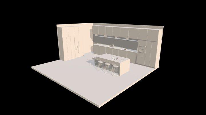 Cucina 3D Model