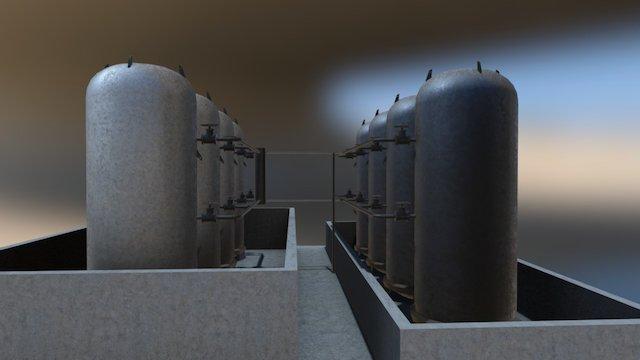 Tanks 3D Model