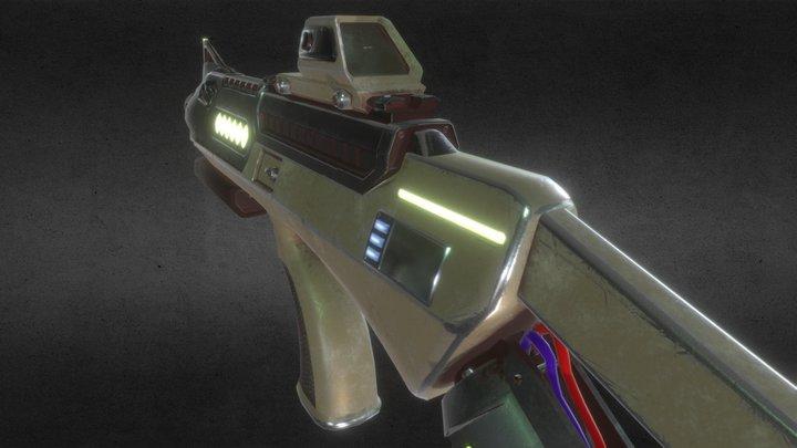 Steyr Aug EC-1 Blaster Final 3D Model