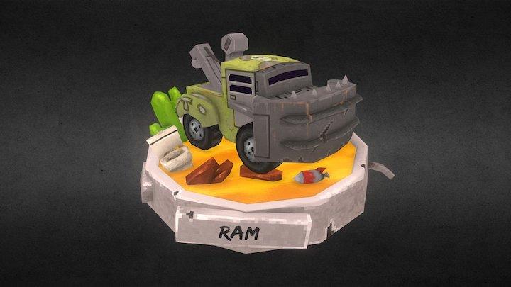 Desert Ram 3D Model
